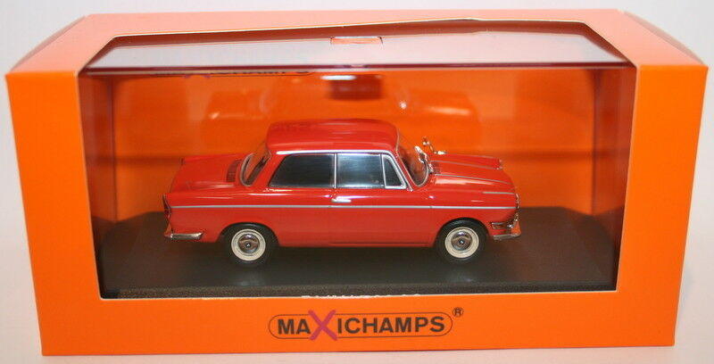 MAXI Champs 1 43 Scale Diecast 940 023701 - 1960 BMW 700 LS-rosso