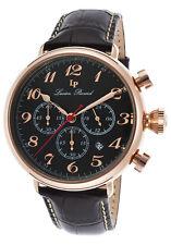Lucien Piccard Trieste GMT Chronograph Mens Watch 72415-RG-01