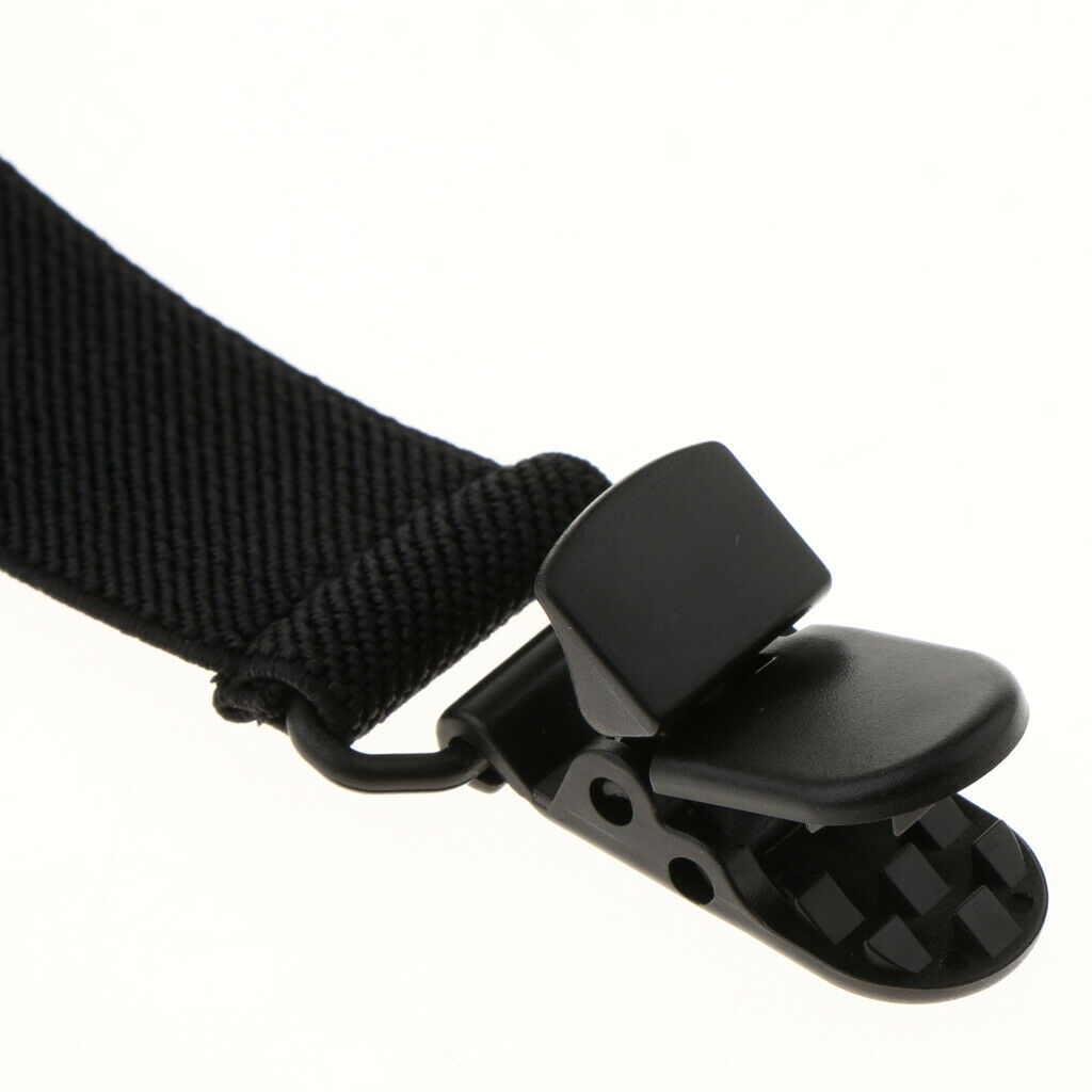 6X Adjustable Boot Strap Pant Clips Casual for Biker Leg Stirrups Clips