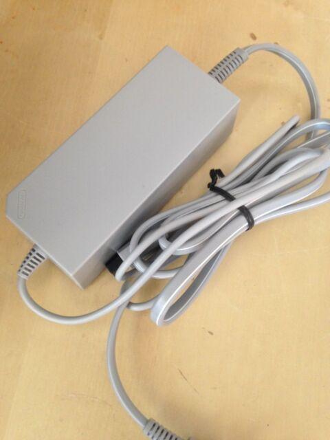 ORIGINAL GENUINE Nintendo Wii AC Adapter Power Supply OFFICIAL OEM RVL-002