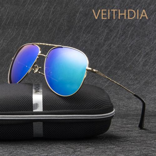 VEITHDIA Mens Aluminum Polarized Sunglasses Outdoor Driving Fishing Eyewear 28