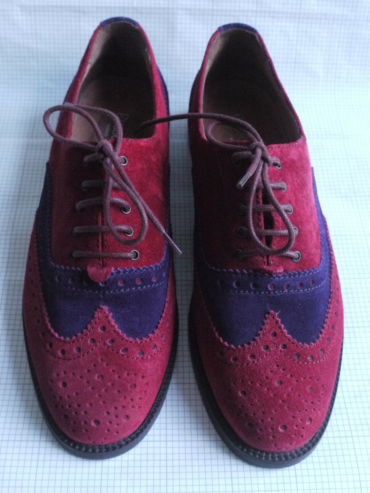 Russell & Lace-Up Bromley JEEVES ROT Viloet Suede Lace-Up & Brogue Schuhes 37.5/4.5 4fe13d