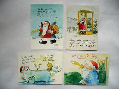 PETER GAYMANN*Cartoon**Postkarte*Schwein/&Henne*Zweisamkeit....10 x 15*