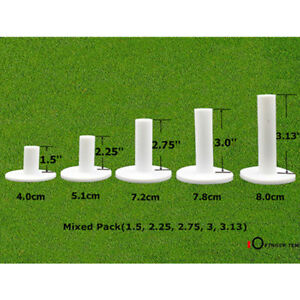 Golf-Rubber-Tees-5-Different-Sizes-for-Mat-Driving-Range-Practice-Pack-US-Stock