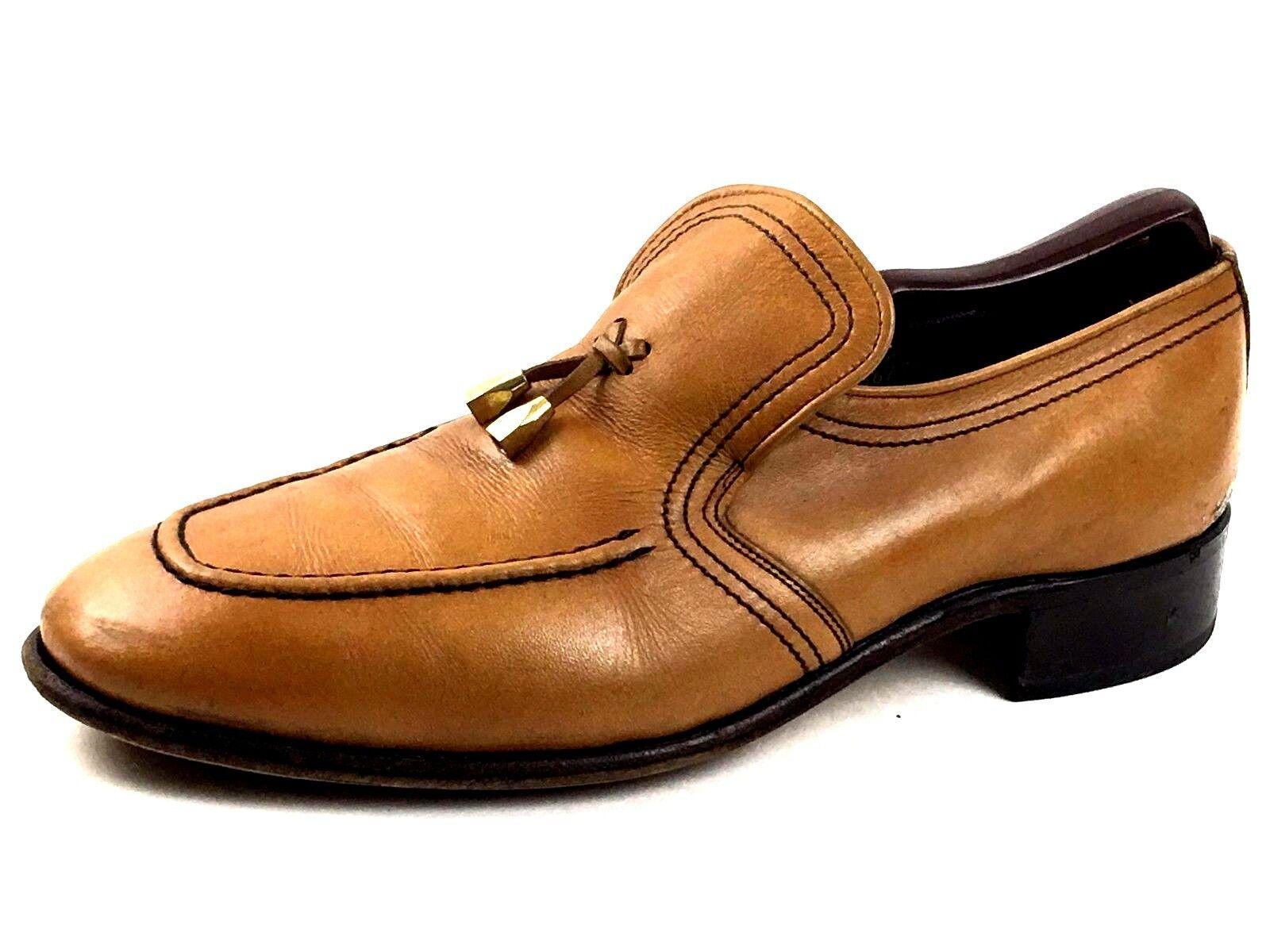 Bostonian Men's Tan Brown Dress shoes Size US.10 UK.9.5  EUR.43