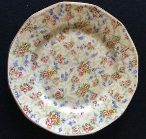 Plate-Porcelain-from-Paris-to-Decoration-Transfer-Flower-End-XIX-Th-Early-Xx