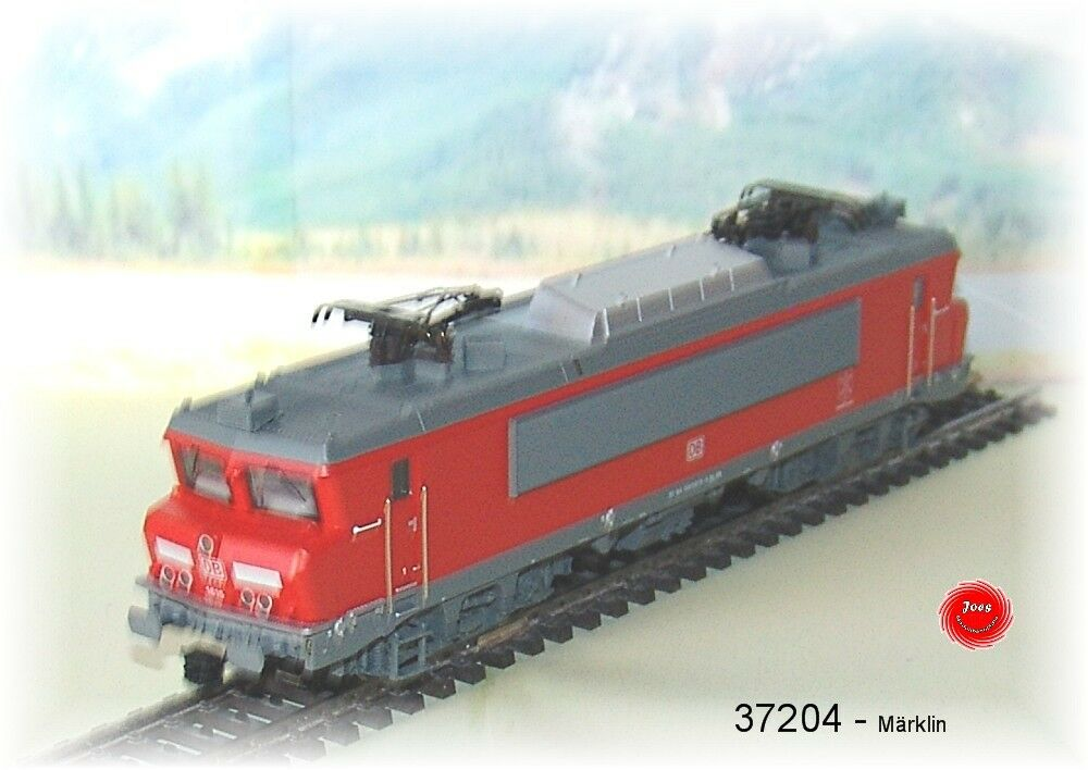 Märklin 37204 E-Lok serie 1600 DB-Schenker MFX SOUND metallo #neu in OVP #