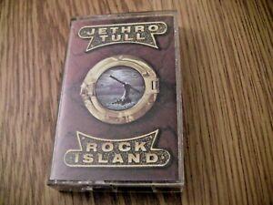 JETHRO TULL- ROCK ISLAND -Cassette Tape