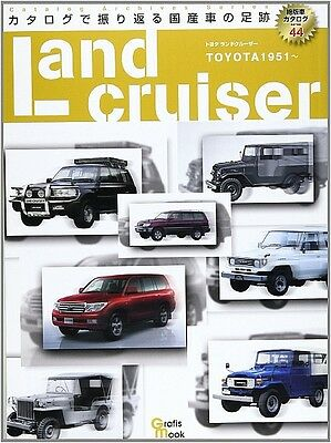 Toyota Land Cruiser TOYOTA 1951 All Models Catalog Archive Data Book