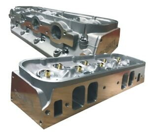 Details about ProMaxx CNC Ported BBC 340cc Cylinder Heads