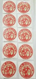 Lot-Of-10-New-Belgium-Stickers-brewery-beer-decal-colorado-college-party-gift
