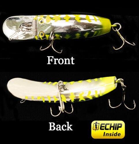 NEW PRO-TROLL StingFish 15 #384 Chrome Chartreuse Tiger