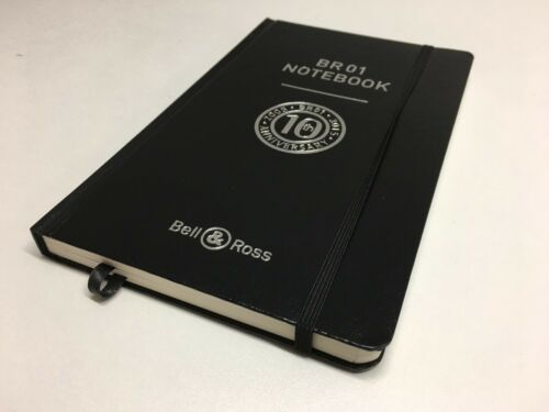 bloc note NOTEBOOK BR01 BELL/&ROSS ANNIVERSAIRE 10th 2005//2015