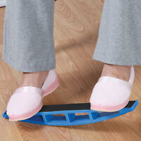 Foot Rocker Blue Exercise Balance Board - Foot Ankle Calf Stretching on sale