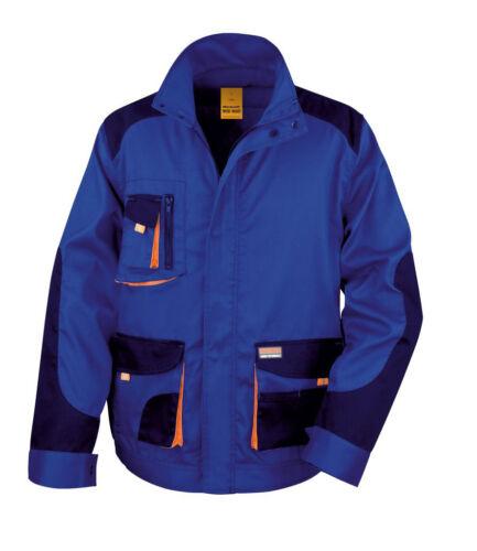 Risultato del lavoro-Guard LITE Unisex Giacca Elegante Da Uomo Pieno Maniche Cappotti Wear R316X
