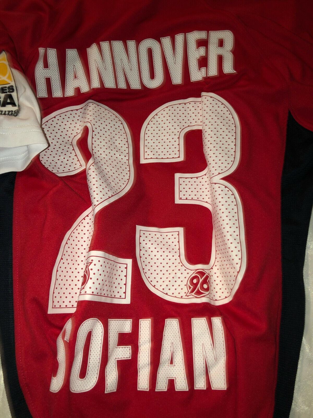 Maglia match worn preparata Hannover Sofian shirt originale Bundesliga Germania