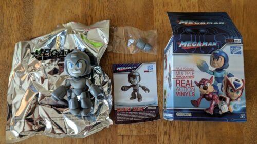 Mega Man Grayscale The Loyal Subjects Action Vinyl Mini Figure In Box USA Seller