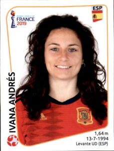 Copieux Panini Femmes Coupe Du Monde 2019 Sticker 143-ivana Andres-espagne-afficher Le Titre D'origine