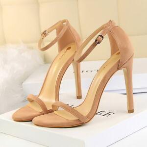 women strappy sandals sexy open toe high heel stiletto