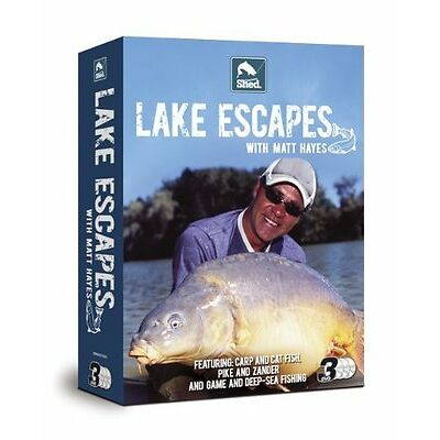 LAKE ESCAPES WITH MATT HAYES - 3 DVD BOX SET - 50 X DMDVD1029 WHOLESALE LOT
