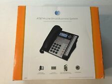 Atampt 4 Line Small Businesses System Used No Power Supply