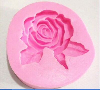 Rose Large Loaf Silicone Mold for Fondant Gum Paste Chocolate Crafts NEW