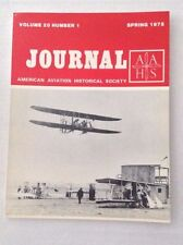 AAHS Journal Airplane Magazine Short Life Of TC1 Spring 1975 121516rh