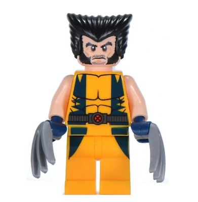 Lego Wolverine 76022 with Mask Super Heroes X-Men Minifigure