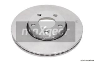 2x disco de freno para dispositivo de frenado eje delantero Maxgear 19-1033max