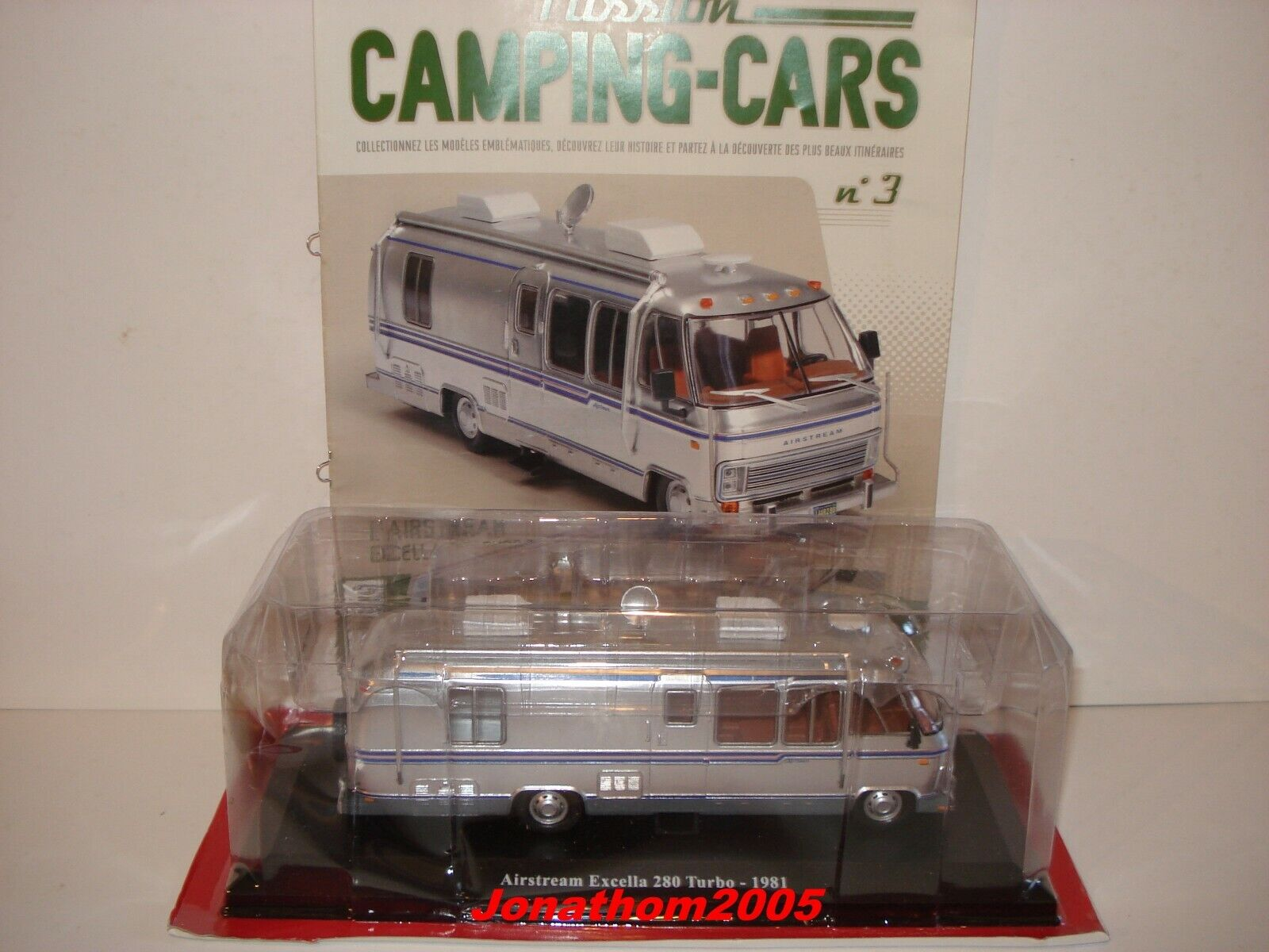 PASSION CAMPING CARS - AIRSTREAM EXCELLED 280 TURBO - USA 1981 au 1 43°