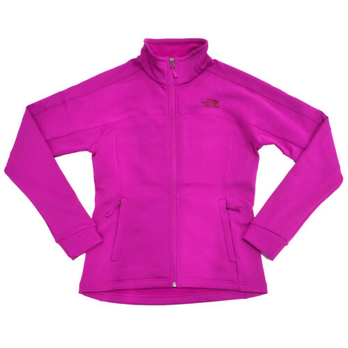 The North Face Womens Fleece Jacket 200 Cinder Full Zip Long Sleeves S L New Nwt