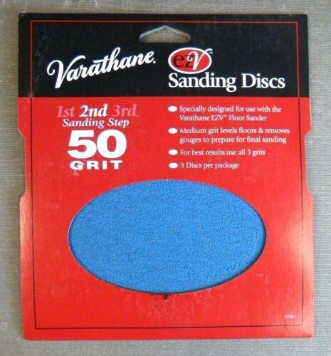 Rust-Oleum 203937 Varathane 50 Grit Sand Discs for EZV Floor Finish Sanders N3