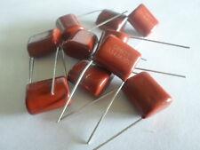 5 St. Kondensator Folienkondensator 0,33uF 630V, Typ CL21 NEU Metallisiert A+