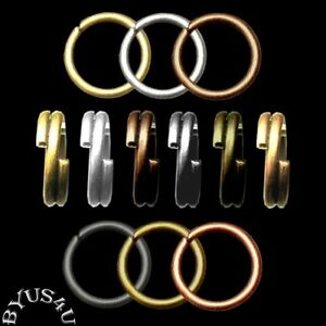 JUMP-RINGS-5mm-OPEN-or-SPLIT-DOUBLE-20g-CONNECTORS-100pc