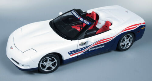 Auto World 2004 Chevrolet Corvette Indy Pace Car 1:18 Scale Diecast AW204