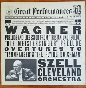 George-Szell-Great-Performances-Wagner-Prelude-and-Overtures-LP-EX-VG