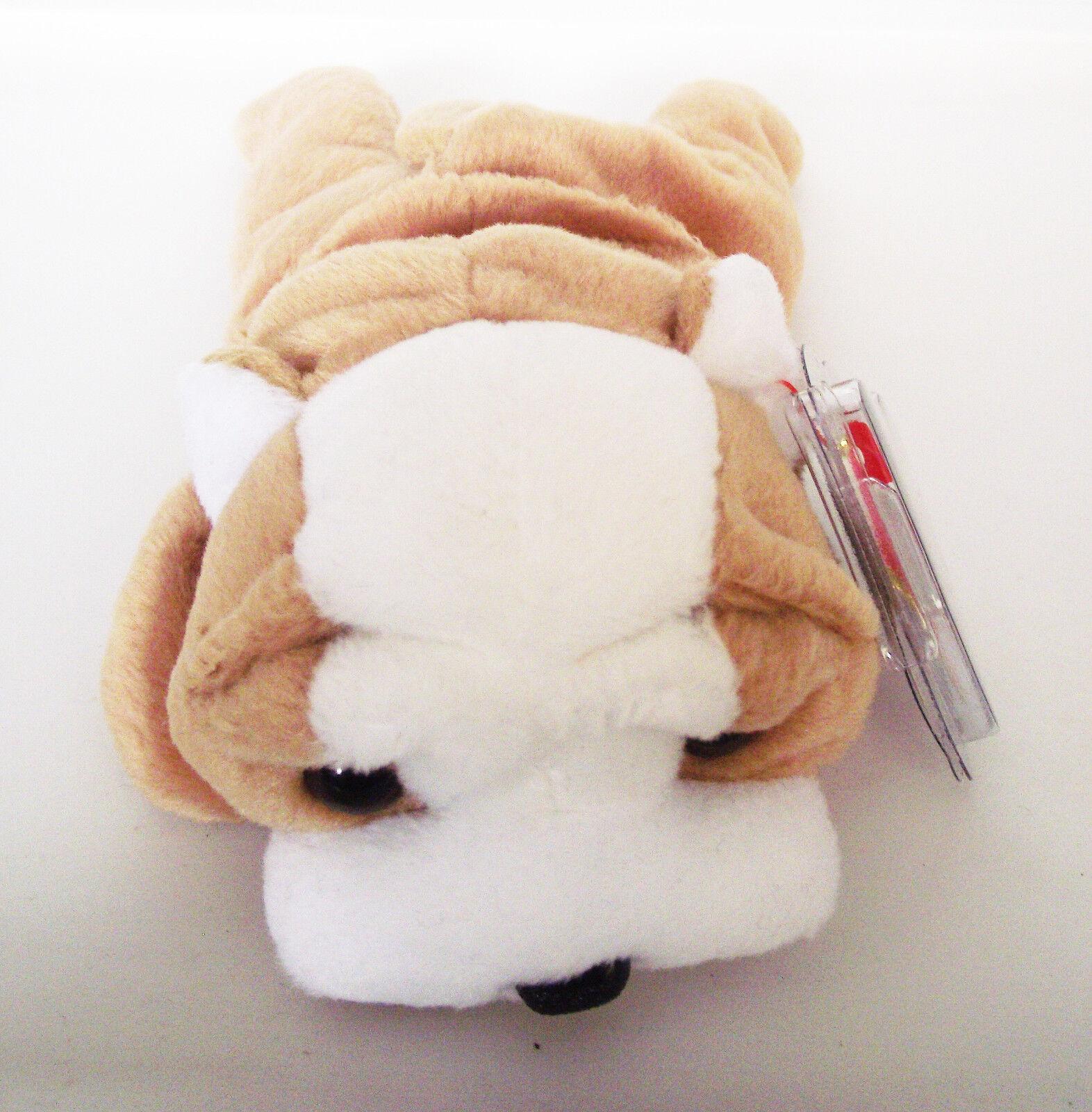 TY BEANIE BABY WRINKLES DOG ERRORS PVC 5TH GEN SWING 6TH TUSH RETIRED MINT NEW