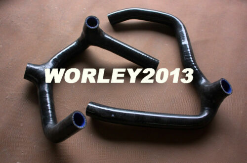 Black silicone radiator hose for HONDA Goldwing GL1500