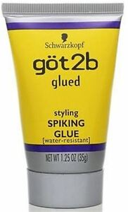 got2b glued hair styles got2b glued styling spiking glue 1 25 oz ebay 4070 | s l300