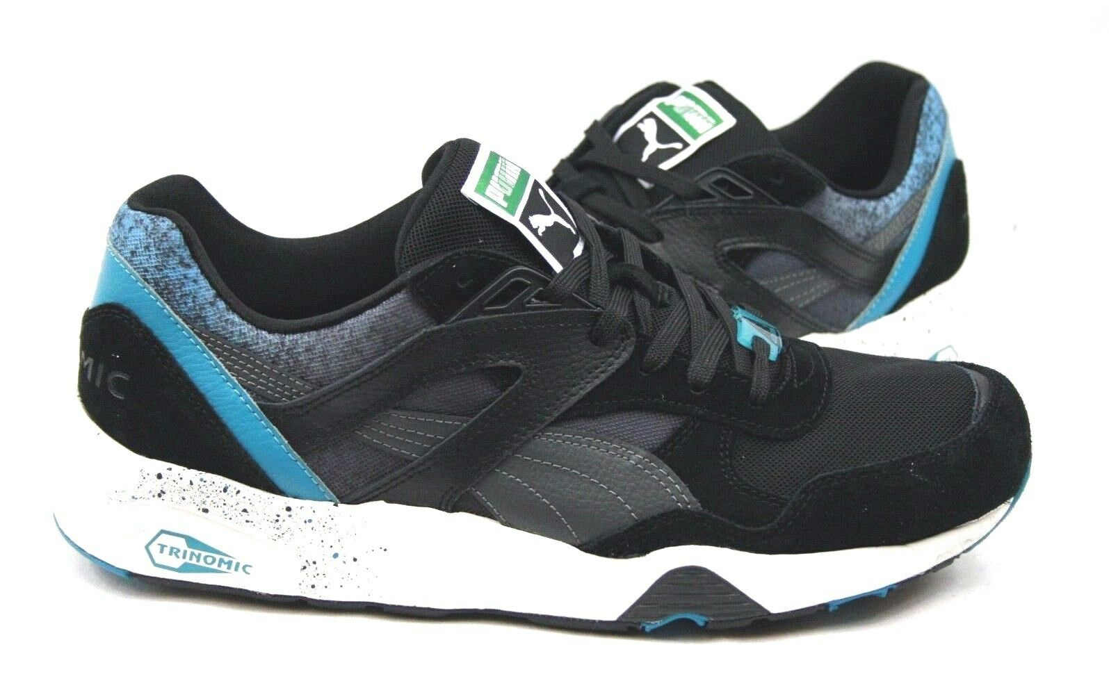 Puma hommes R698 Trinomic Splatter 358628-01 Athletic / Running Sneakers