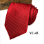 Classic-Red-Black-Blue-Mens-Tie-Paisley-Stripe-Silk-Necktie-Set-Wedding-Jacquard thumbnail 55