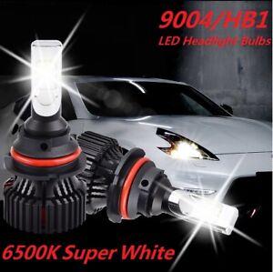 2pcs 9004 LED Headlight For Isuzu Rodeo 1991-1999 Trooper 1987-2002 Amigo Stylus