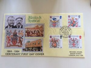 Marks-amp-Spencer-Centenary-First-Day-Cover