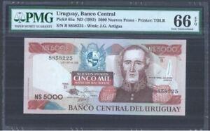 Uruguay-5000-Nuevos-Pesos-PMG-EPQ-66-B-8858225