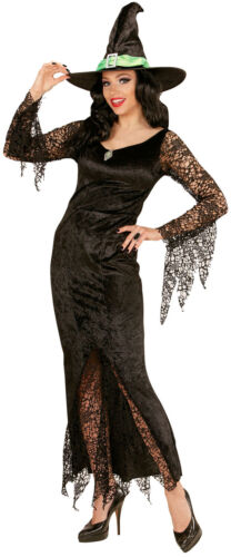 Gloria Costume streghe con EDELSTEIN NUOVO-DONNA CARNEVALE TRAVESTIMENTO kostü