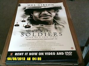 We Were Soldiers mel gibson Movie Poster A2 - Altrincham, United Kingdom - We Were Soldiers mel gibson Movie Poster A2 - Altrincham, United Kingdom