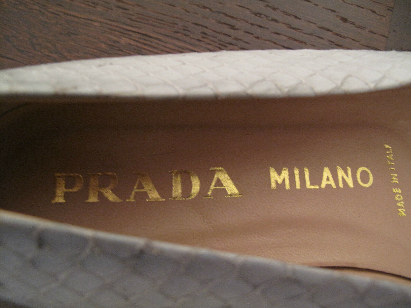 Original Prada Damen Schuhe Gr Ballerinas Echt Leder hellblau Gr Schuhe 39 gute Zustand c64f31