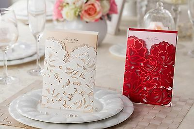 Wedding invitation cards CW100/066 with envelopes, seals, personalized printing