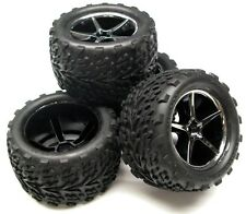 1/16 E-revo Preglued TIRES & WHEELS (Talon Gemini) Traxxas Factory Built 71076-3