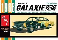 AMT 1966 Ford Galaxie 500 Hardtop 1/25 scale plastic model car kit new 904